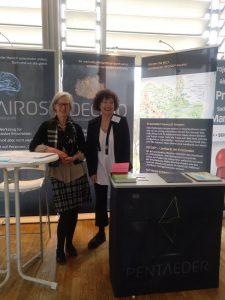 Dr. Cornelia Strobel und Ulrike Sutrich auf dem Trainer Kongress Berlin 2018