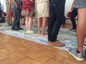 Workshop mit Wanderung auf der Decisio Landkarte
